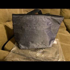 Thirty- One Gray thermal tote NWT